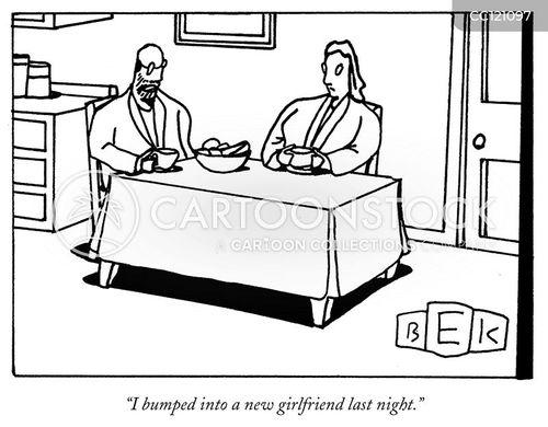 serial dating cartoon