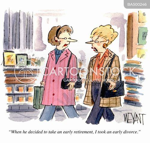 early retirement cartoon