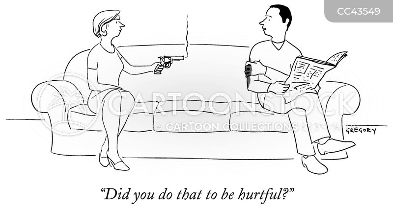 gun cartoon