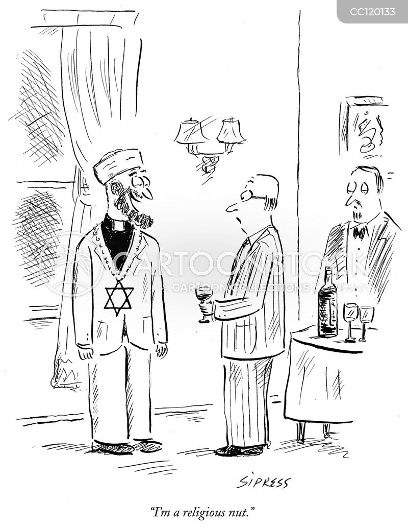 Clergy Collars cartoon