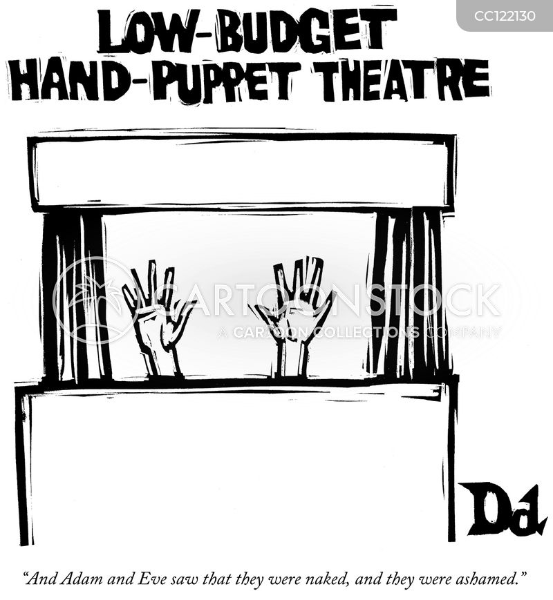 Puppet Theater cartoon