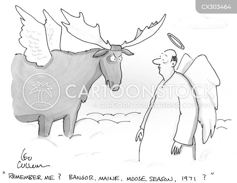 game hunting cartoon