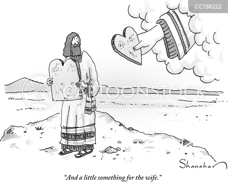 biblical cartoon