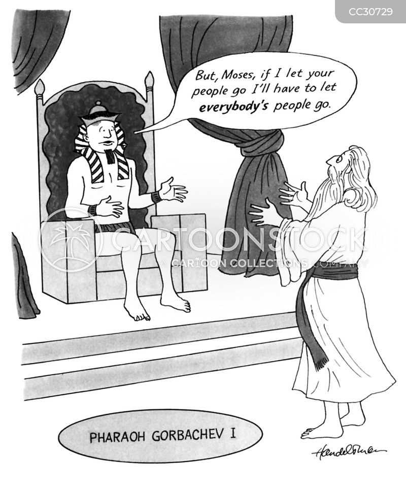 pharaoh cartoon