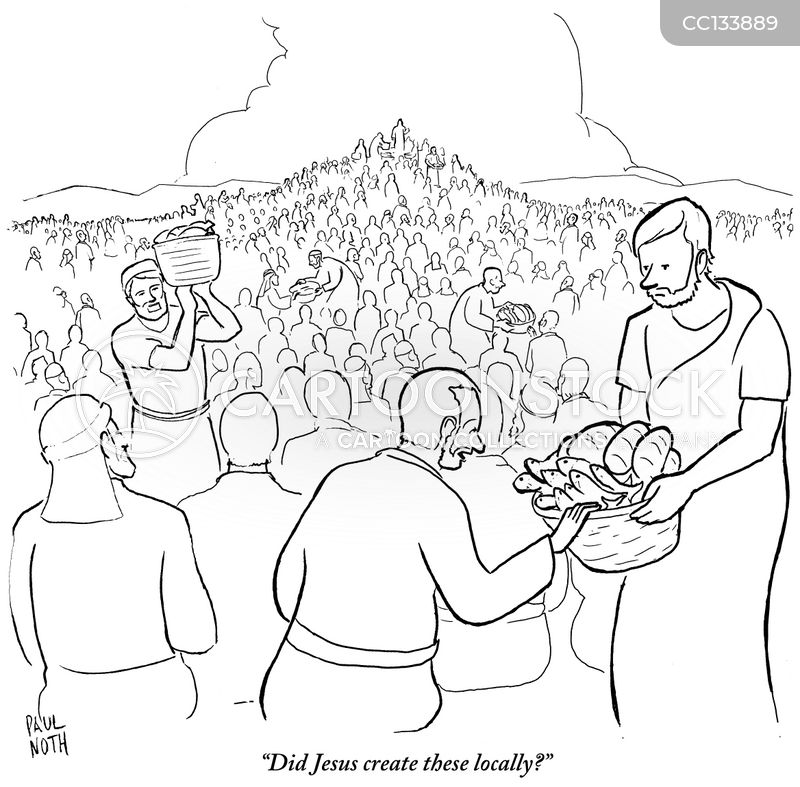 local food movement cartoon