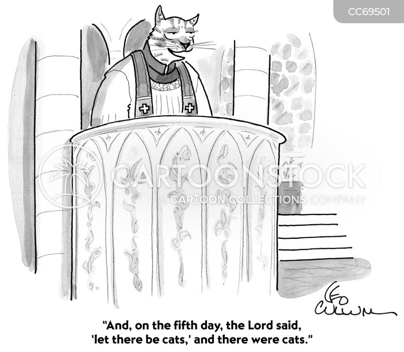 Homily Cartoons and Comics - funny pictures from CartoonStock