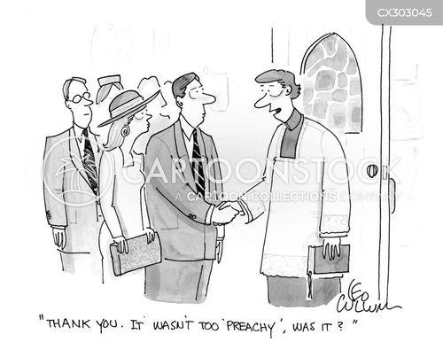 preaching cartoon