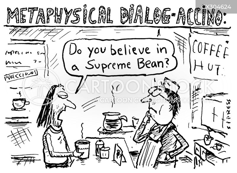 supreme being cartoon