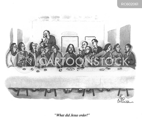 famous paintings cartoon