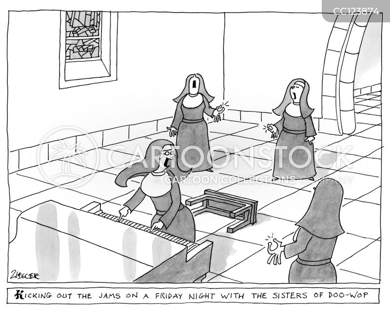 religious imagery cartoon