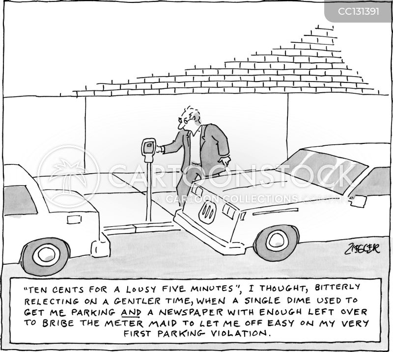 meter maids cartoon