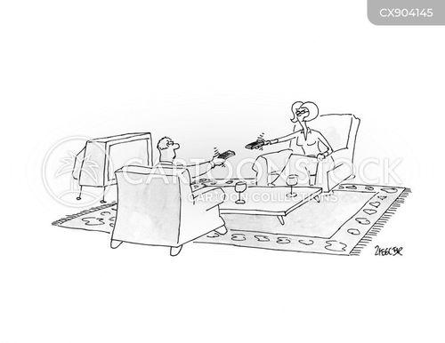 remote controllers cartoon