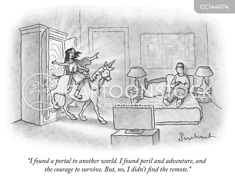 remote controls cartoon