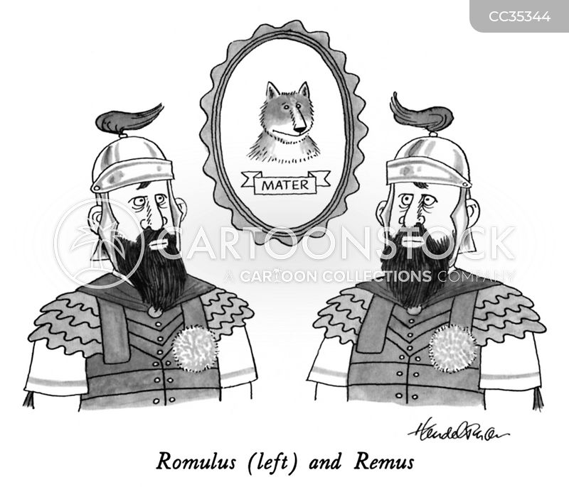Romulus cartoon