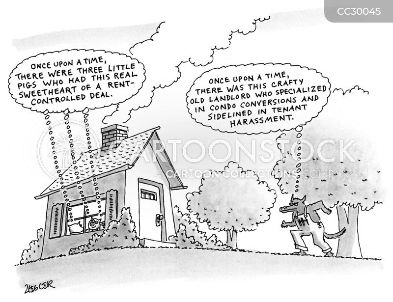 rent controls cartoon