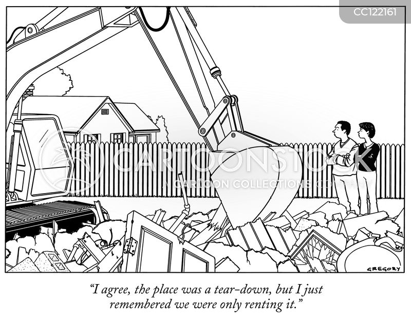 estate agent cartoon