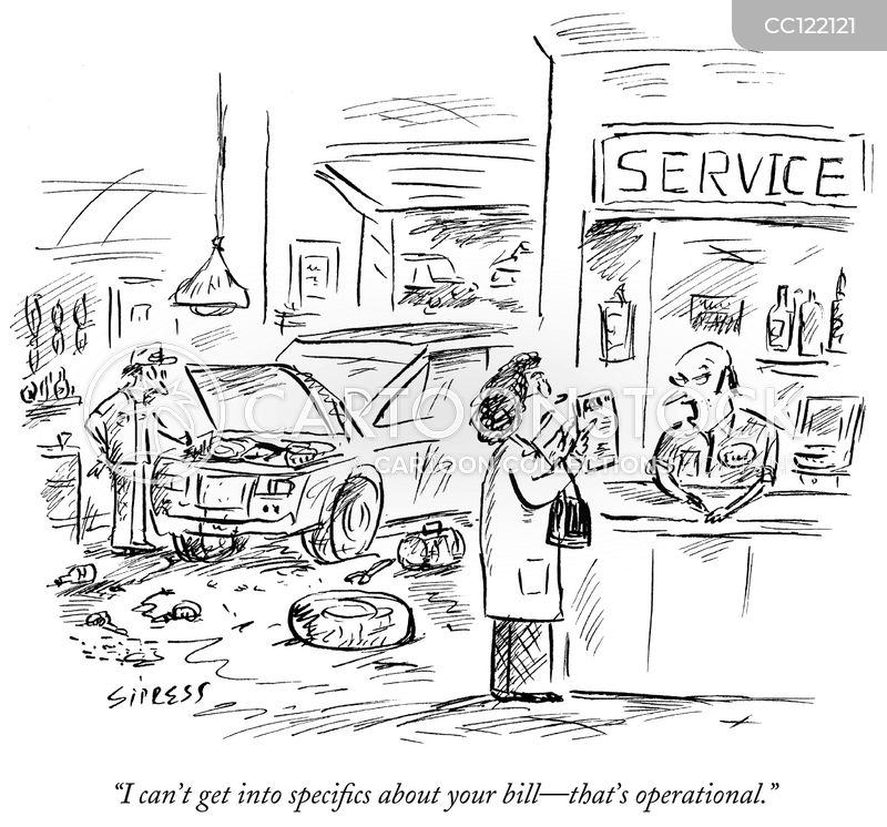 repair cartoon
