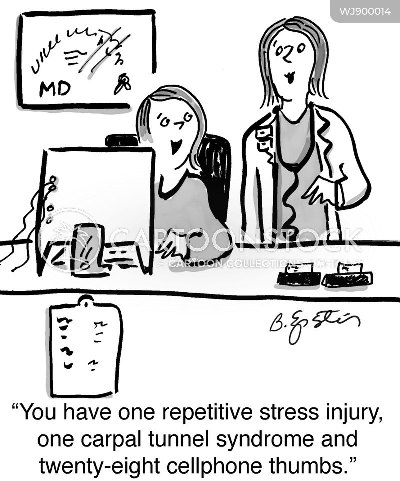 Injuries cartoon