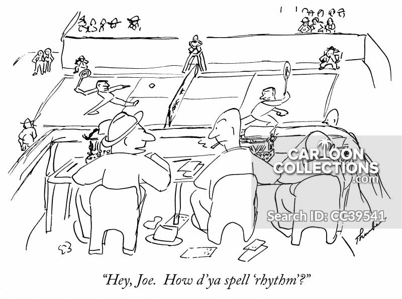 Rhythm cartoon