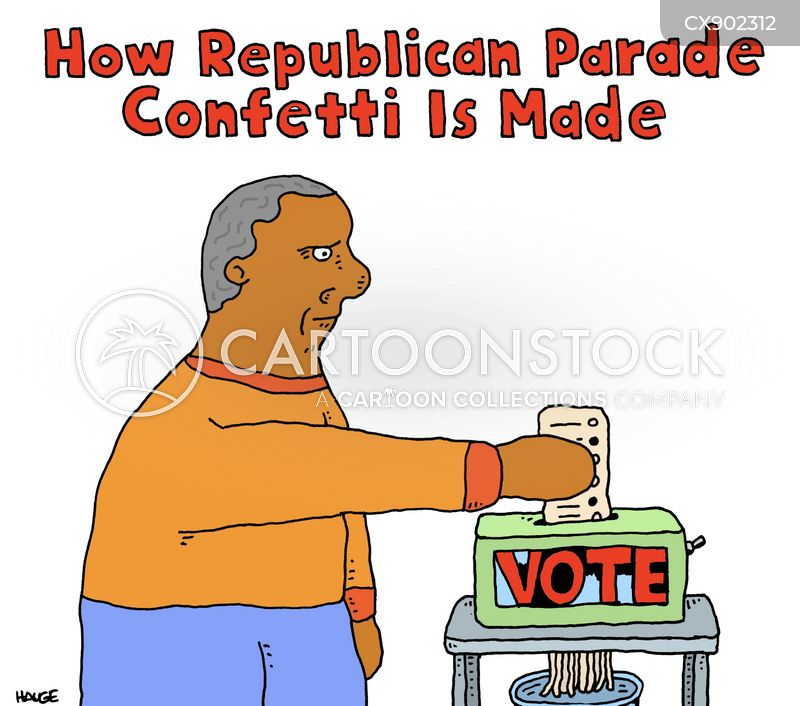 republican parades cartoon