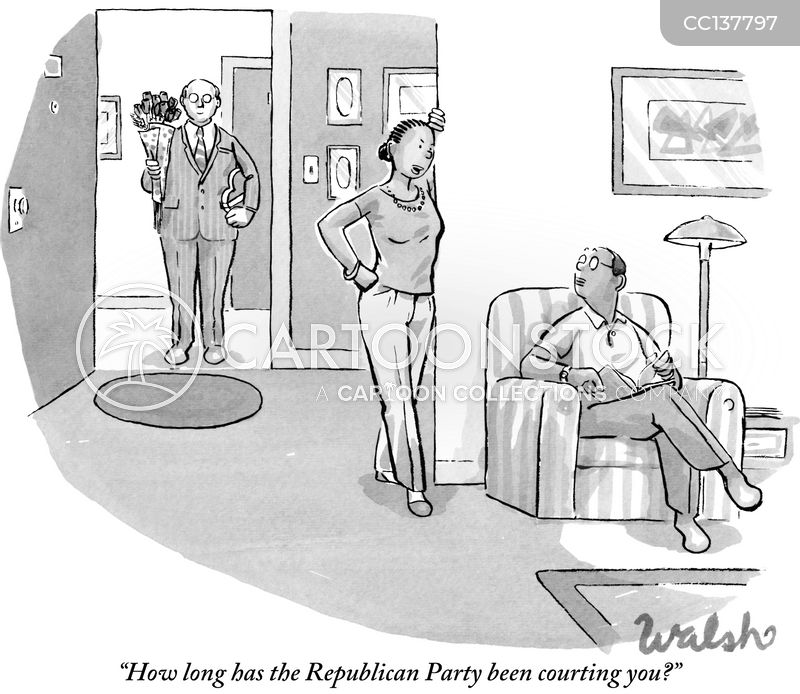 voting demographics cartoon