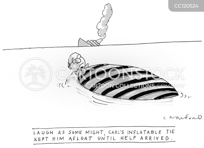 lost at sea cartoon