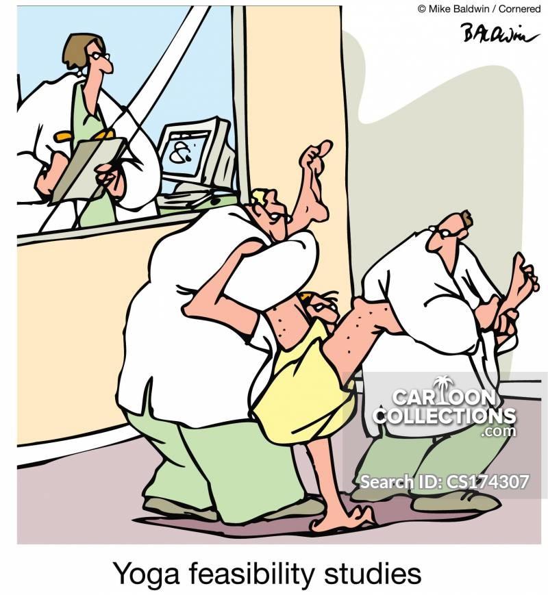 research studies cartoon