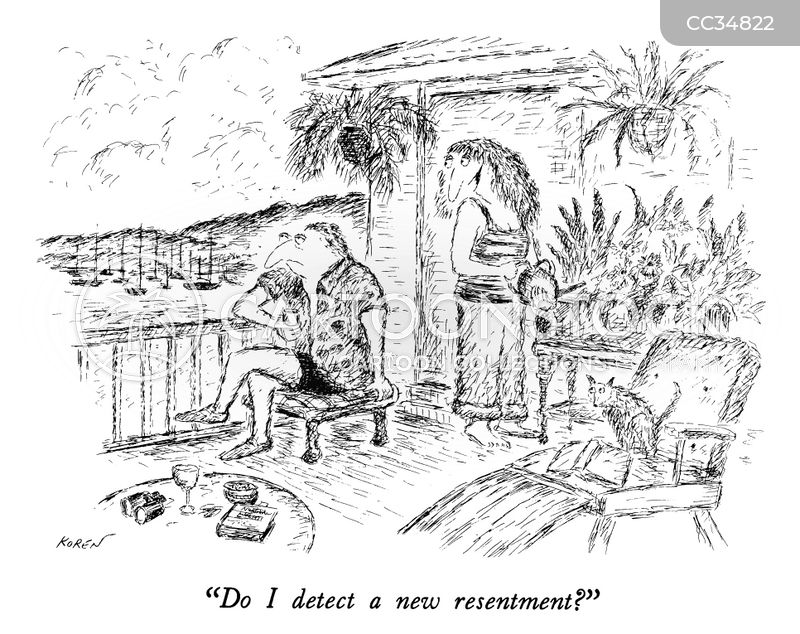 resentment cartoon
