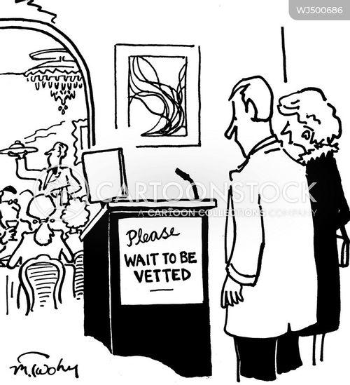 vetting cartoon