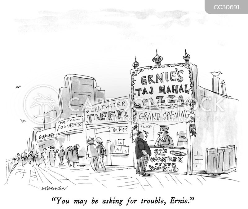 italian cuisines cartoon