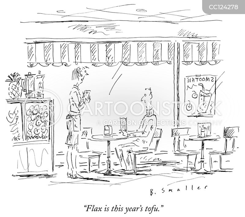 cafés cartoon