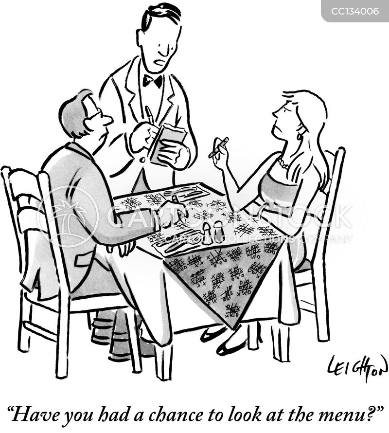 tablecloth cartoon
