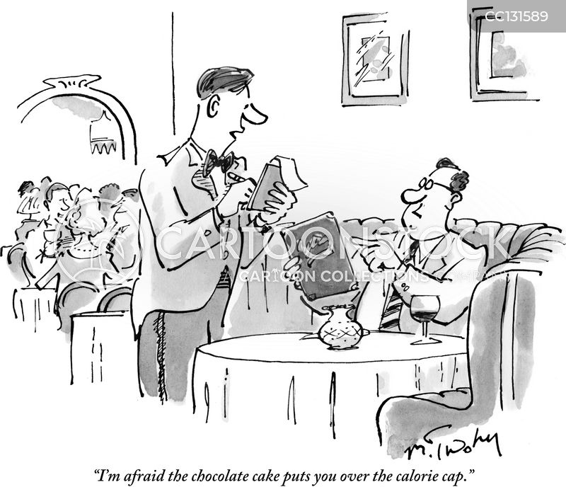 rude waiters cartoon