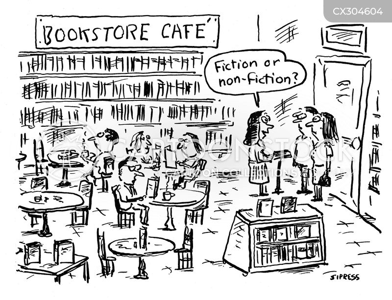Cafe cartoon