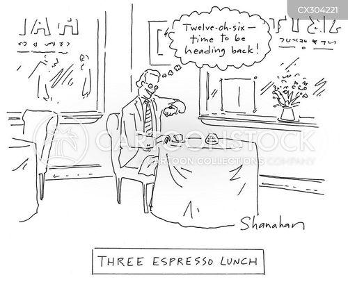 lunch breaks cartoon