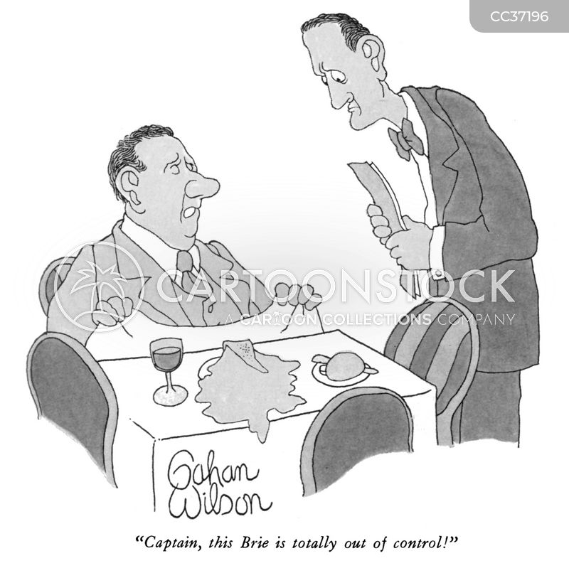 head waiters cartoon