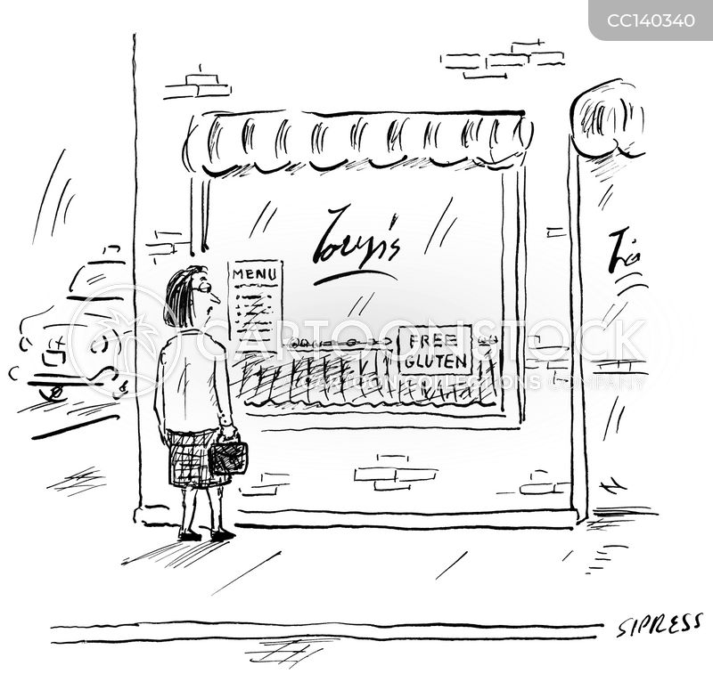 storefront cartoon