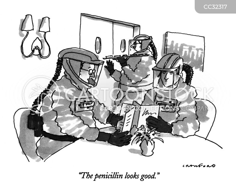 Antibiotic cartoon
