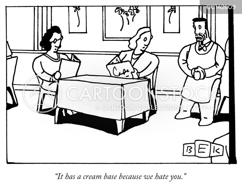 dieting cartoon
