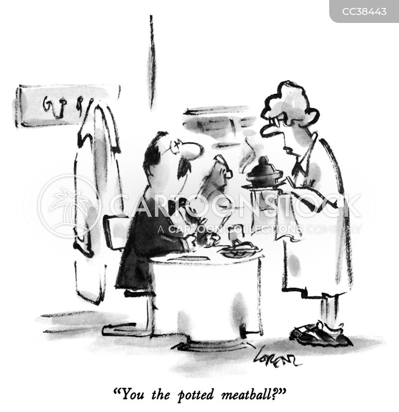 waitresses cartoon