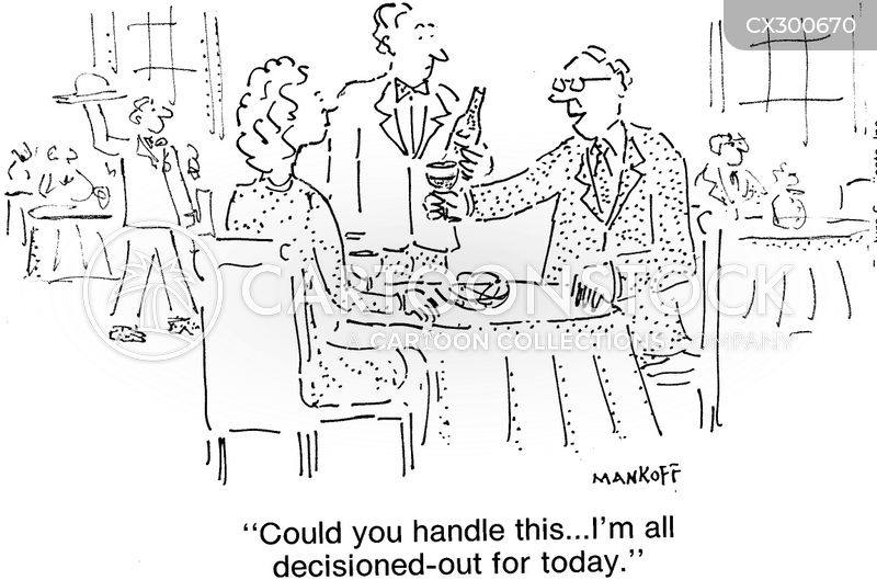 wine steward cartoon
