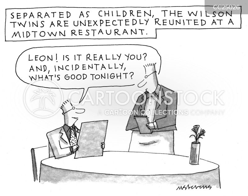 ordering cartoon