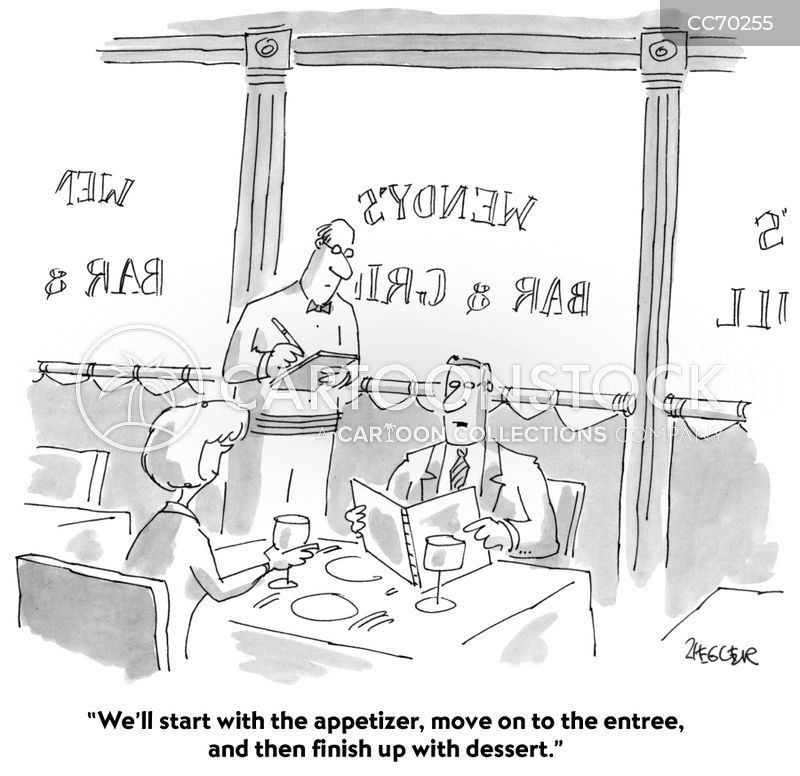 Appetizer cartoon