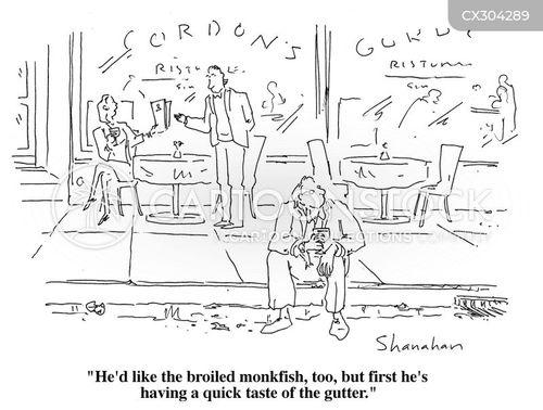 table service cartoon