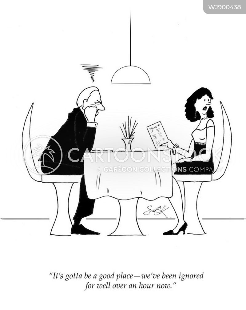 good restaurants cartoon