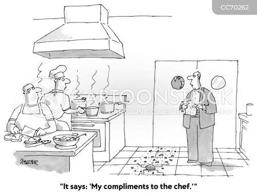food preparation cartoon