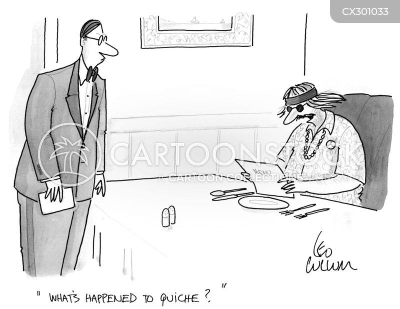 quiche cartoon