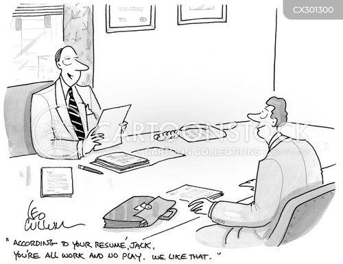 recruiting cartoon