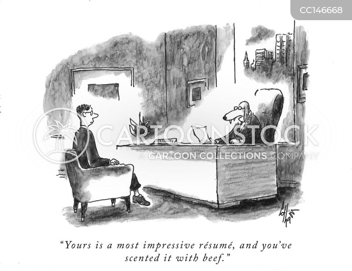 interviewees cartoon