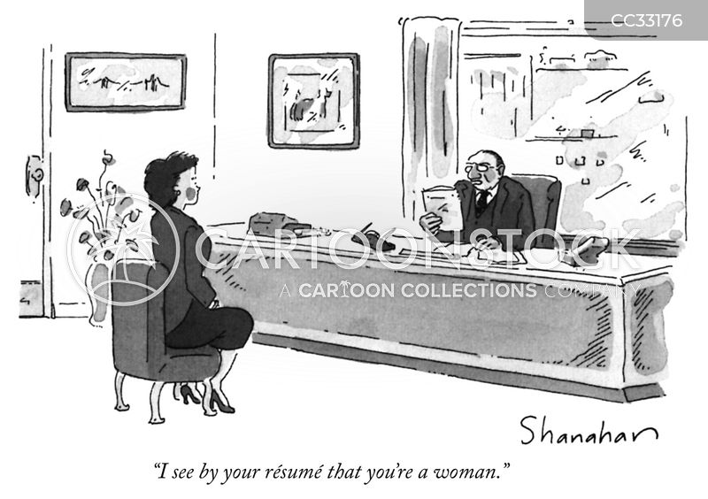 Sexism cartoon